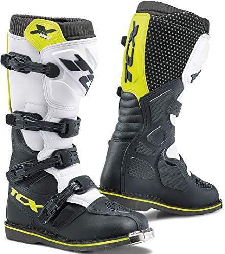 TCX X-Blast-Stivale Moto para Hombre, Multicolor (NEBG), 38 EU