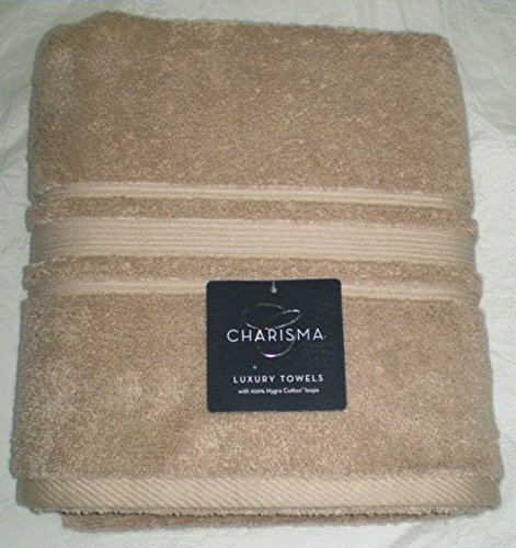 Charisma Luxury Bath Towel - 100% Hygro Cotton - Linen