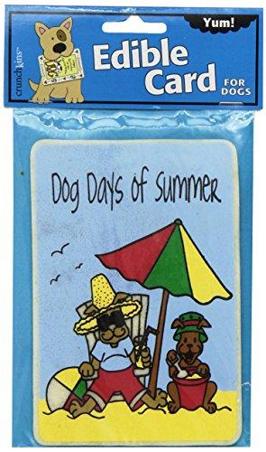 Crunchkins Comestible Crunch Card, Dog Days of Summer