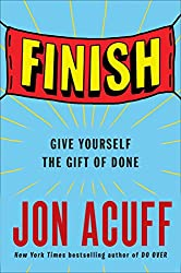 On My Book Wish List: Finish by Jon Acuff