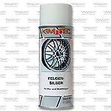 KIM-TEC Felgensilber-Spray 400ml, Lackierung von Alu- und Stahlfelgen, silber