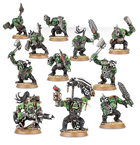 Games Workshop 251.765.061.653 cm Warhammer 101.600 cm Ork Boyz Action Figur