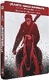 La Planète des singes : Suprématie - 3D Bluray + BD + DHD - Steelbook Edition Limitée [Blu-ray] [Combo Blu-ray 3D + Blu-ray + Digital HD - Édition Collector Limitée boîtier SteelBook]
