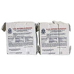 SOS Food Labs 185000826 Emergency 3600 Calorie Food Bar (Pack...