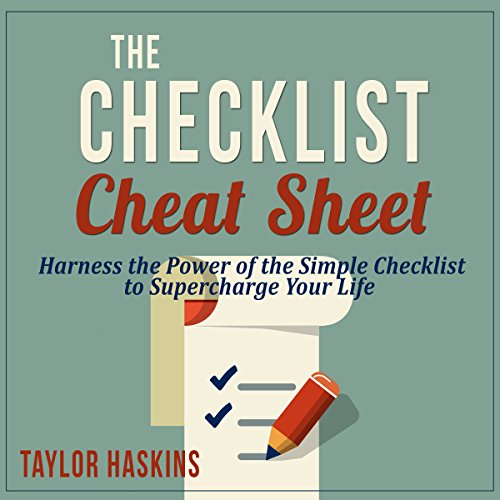 The Checklist Cheat Sheet cover art