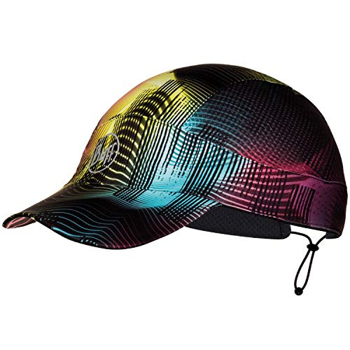 Buff Pack Run Cap mehrfarbige Schirmmütze zum Laufen   UV-Schutz   Joggen   Sportmütze   Sport-Kappy + Ultrapower Schlauchtuch   Laufkappe   Schirmmütze Pack Run Cap - Grace Multi - 119501.555.10.00