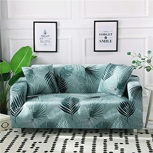 WXQY Funda de sofá de Sala de Estar elástica Universal Spandex Funda de sofá Antideslizante elástica Funda de sofá Todo Incluido Funda de sofá A1 2 plazas