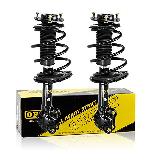 OREDY Front Struts Shocks Complete Struts Assembly Kit Suspension Strut and Coil Spring Assembly SR4256 SR4255 Compatible with Toyota Camry 2012 2013 2014 2015 2016 2017