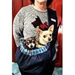 OrgMemory Carrier Soft-Sided Pet Carrier, Hands-Free Adjustable Sling Bag, Small Dogs/Cats Outdoor Shoulder Carry Bag 9