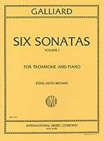 ガイヤール : 6つのトロンボーン・ソナタ 第1巻/インターナショナル・ミュージック社/ピアノ伴奏付