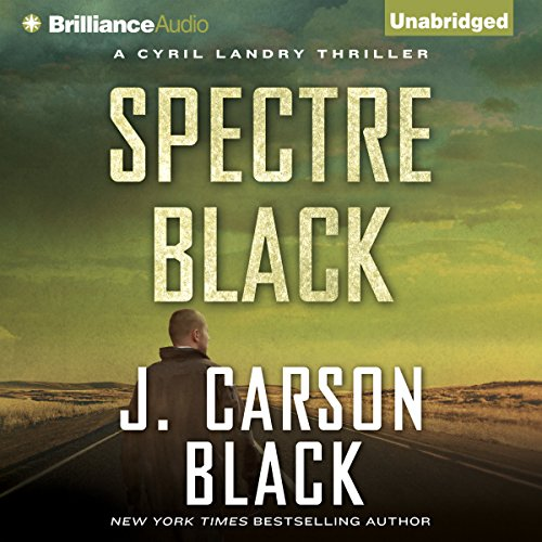 Spectre Black audiobook cover art