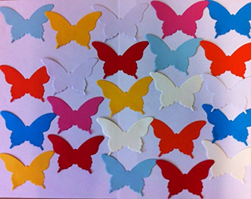 Paper Garland Butterfly Stickers Wedding Party Baby Shower Decoration