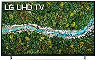 LG 65 Inch TV 4K UHD 77 series Quad Core Processor Active HDR Cinema Screen - 65UP7750PVB (2021 Model)
