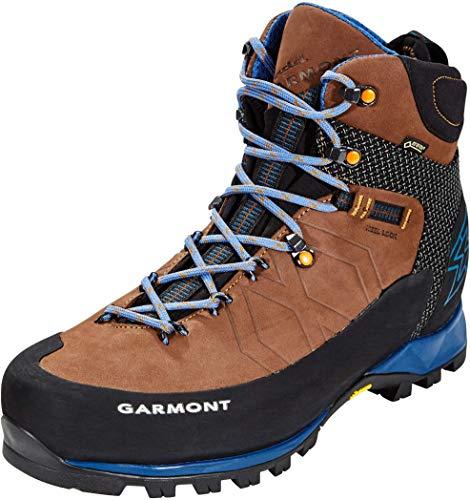 GARMONT TOUBKAL GTX Chaussures de trekking brun fonc' / bleu goretex bottes