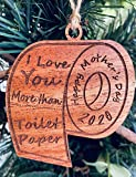 2020 Commemorative Mother's Day Toilet Paper Christmas Ornament