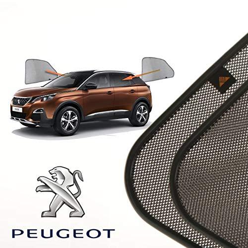 Cortinillas Parasoles Coche Laterales Traseras a Medida para Peugeot 3008 (2) (2016-presente) SUV 5 Puertas