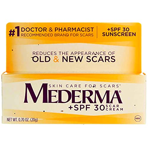 Mederma Scar Reducer Cream with SPF 30-0.7 Ounce (Pack of 2)