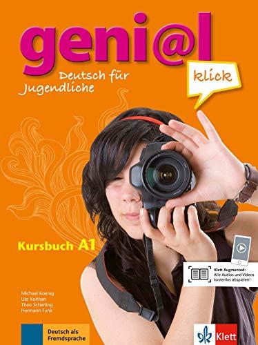 Geni@l klick. A1. Kursbuch. Per la Scuola media. Con CD Audio: geni@l klick a1, libro del alumno + cd (ALL NIVEAU ADULTE TVA 5,5%)