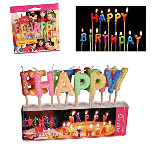 Bougies joyeux anniversaire \