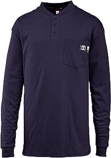 Men's Flame Resistant Long Sleeve Henley T-shirt