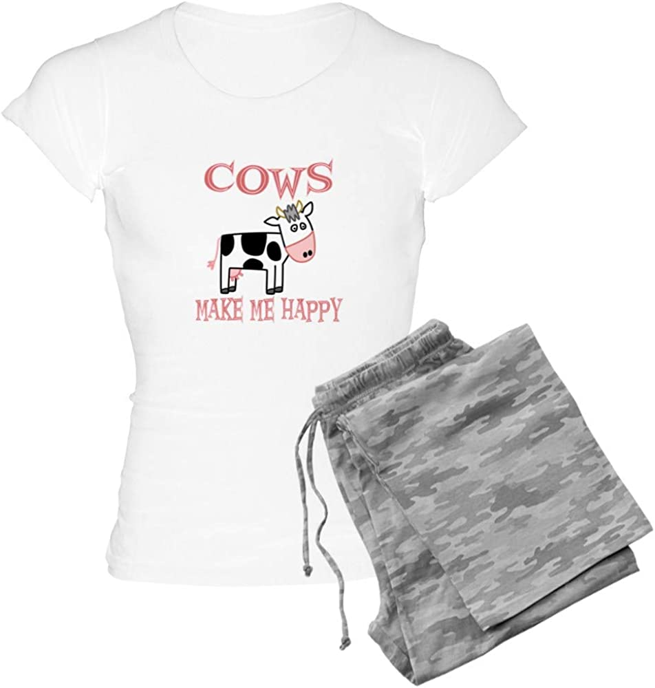 CafePress Cows Pajamas shop Women's All items in the store PJs