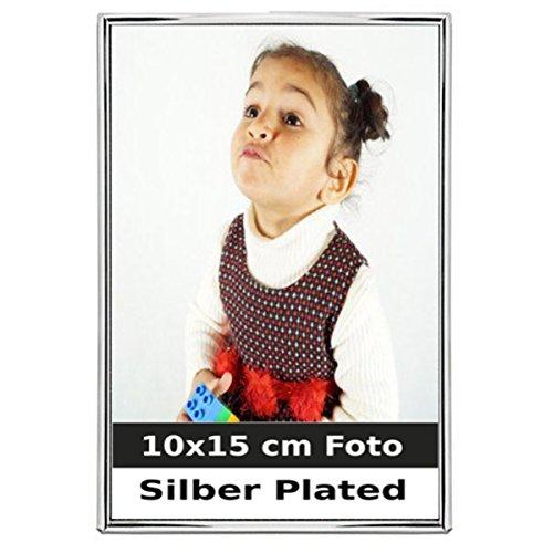 silberkanne Occasions Direct Frames - Cornice portafoto Toskana, placcata Argento, 10 x 15 cm