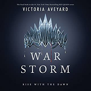 War Storm     Red Queen Series, Book 4              Written by:                                                                                                                                 Victoria Aveyard                               Narrated by:                                                                                                                                 Amanda Dolan,                                                                                        Erin Spencer,                                                                                        Saskia Maarleveld,                   and others                 Length: 22 hrs and 24 mins     61 ratings     Overall 4.4
