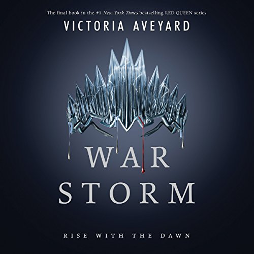 War Storm     Red Queen Series, Book 4              Auteur(s):                                                                                                                                 Victoria Aveyard                               Narrateur(s):                                                                                                                                 Amanda Dolan,                                                                                        Erin Spencer,                                                                                        Saskia Maarleveld,                   Autres                 Durée: 22 h et 24 min     63 évaluations     Au global 4,4