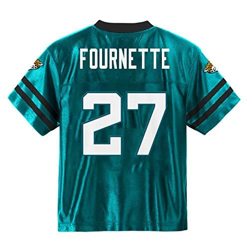 Outerstuff Leonard Fournette Jacksonville Jaguars #27 Teal Youth Alternate Player Jersey (Medium 10/12)