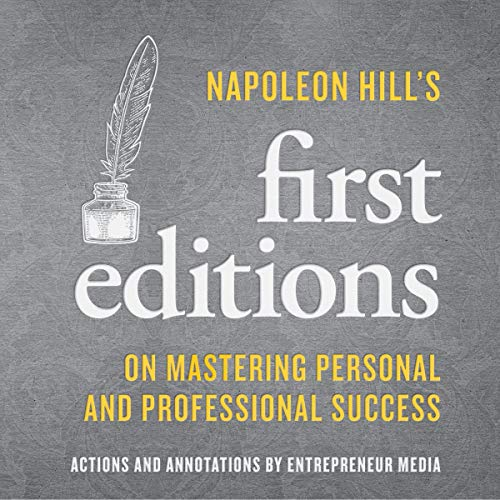 Napoleon Hill's First Editions cover art