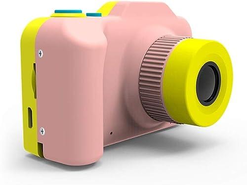 Pinjeer 12MP 2 Zoll Display Mini Kinder Kamera SLR Digitalkamera Für Kinder Baby Niedlichen Cartoon Multifunktions Spielzeug Kamera Kinder Geburtstag (Farbe   Rosa, Größe   32G)