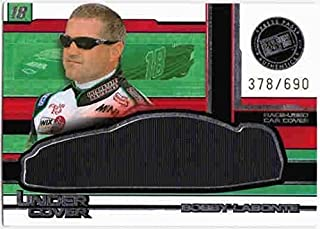 BOBBY LABONTE 2004 Press Pass Eclipse Under Cover Cars Race Used Car Cover /690