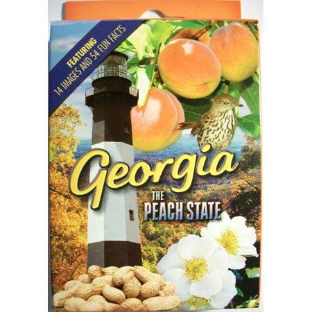 Georgia the Peach State Playing Cards