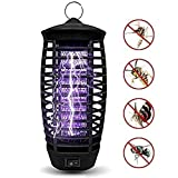 2019 Upgraded Mosquito Killer Bug Zapper, Indoor Outdoor Flying Insect Trap with UV Light, Fly Killer Pests Catcher Lamp