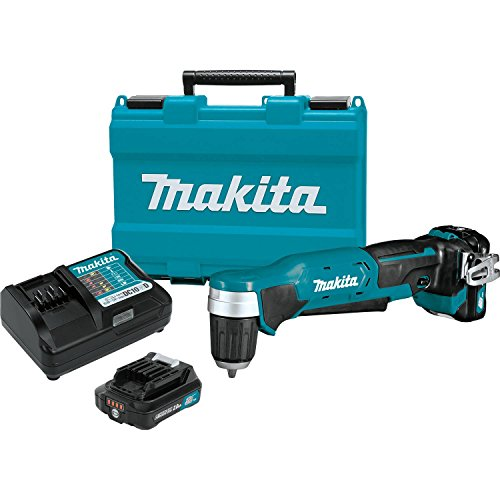 Makita AD04R1 12V max CXT Right Angle Drill Kit, 3/8""