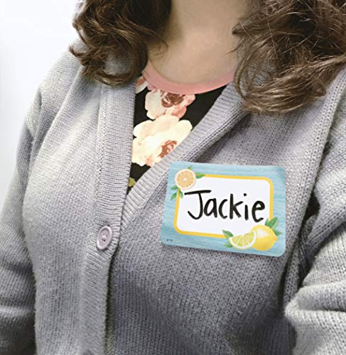 Teacher Created Resources Lemon Zest Name Tags/Labels - Multi-Pack (TCR8483) Photo #5