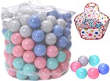 WonderPlay Kids' Balls with Pit, Pack of 200 Phthalate Free BPA Free Crush