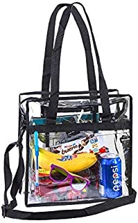 Clear NFL Stadium Approved Tote Bag - Security Travel Sports Outdoor Activities