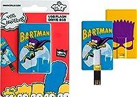 GreyStar TRIBE ザ・シンプソンズ バートマン カード型 USB メモリー ドライブ The Simpsons USB CARD SIMPSON BARTMAN FC003401