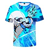 YJXDBABY-Dragon Ball-Camiseta Unisex De Manga Corta Estampada En 3D,Camisetas...