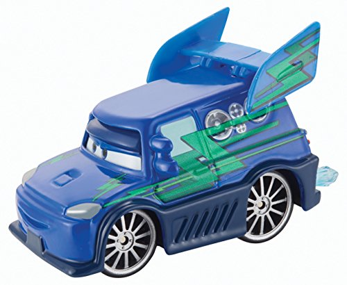 Disney/Pixar Cars World of Cars 2014 Tuners DJ with Flames #4/8 1:55 Escalier