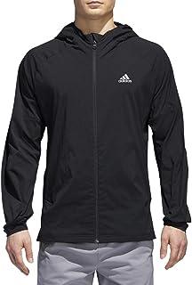 adidas Men's Athletics Sport ID Full-Zip Woven Hoodie