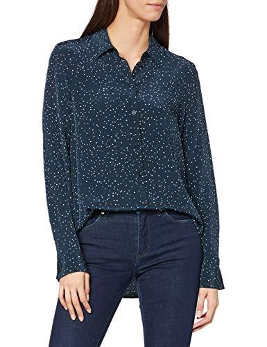 Seidensticker Damen Fashion 1/1 Bluse, Blau (19), 42