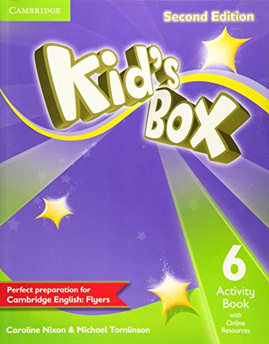 Nixon, C: Kid's Box Level 6 Activity Book with Online Resour