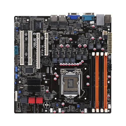 Asus P7F-M Socket 1156/ Intel 3420/ DDR3/ V&2GbE/ Micro ATX Motherboards
