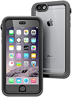 Catalyst iPhone 6 Plus Case Waterproof Impact Protection, High Touch Sensitivity ID, Military Grade Drop and Shock Proof Premium Material Quality, Slim Design, Black and Space Gray