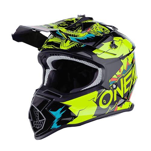 O'Neal 0200-463 2SRS Youth Helmet Villian, Neon...
