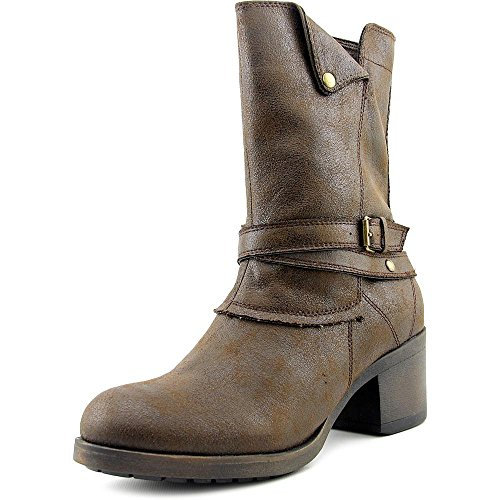 Mia Santiago Women US 7.5 Brown Mid Calf Boot