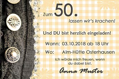 10x Einladungskarte Fotokarte Grußkarte Geburtstag wählbar mit oder ohne Umschlag transparent (ohne Umschlag) (mit Umschlag/Kuvert transparent)