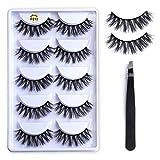 Adecco LLC 100 Pairs Set,Under Eye Pads, Lint Free DIY False Eyelash Lashe Extension Makeup (Thick Eyelashes)